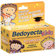 Bedoyecta Kids B Complex Chewable Tablets Multivitamin Supplement