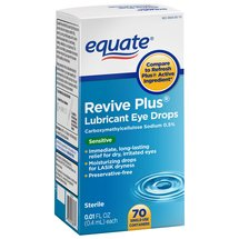 Equate Revive Plus Lubricant Eye Drops