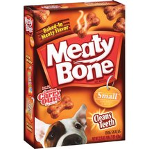Meaty Bone Beef Flavor Small Dog Treats