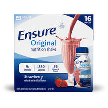 Ensure Original Strawberry Nutrition Shake