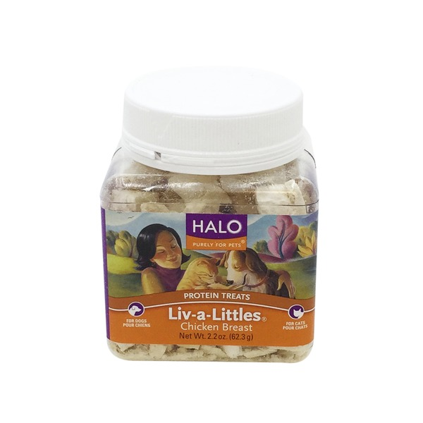 Halo Liv A Littles Chicken Cat & Dog Treats