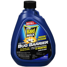 Raid Max Bug Barrier Pesticide Refill