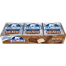 Klondike Heath English Toffee Bar 4 oz Ice Cream Bars