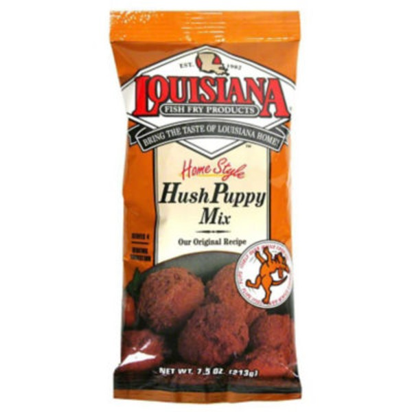 Louisiana Fish Fry Products Louisiana Homestyle Hush Puppy Seasoned Cornmeal Mix