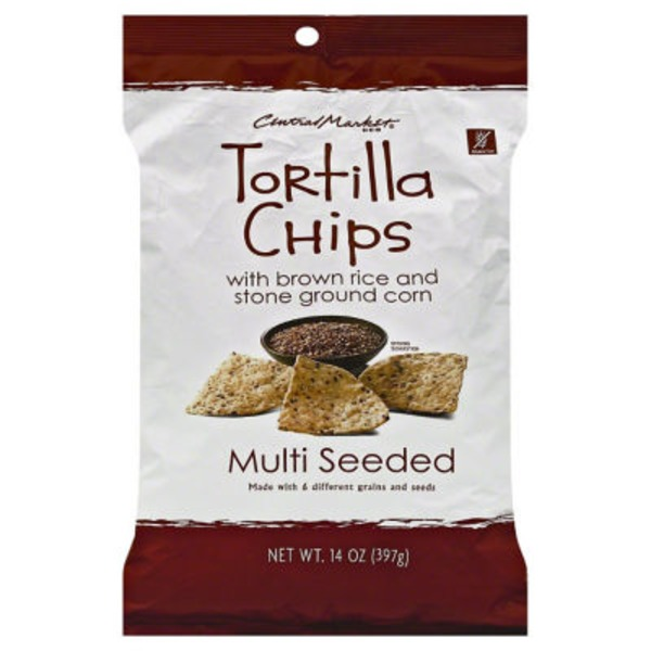 Central Market Multi Seeded Tortilla Chips