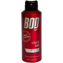 BOD Man Most Wanted Deodorant Body Spray