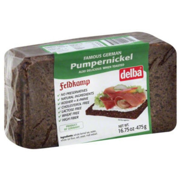 Delba Bread, Pumpernickel
