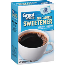 Great Value No Calorie Sweetener