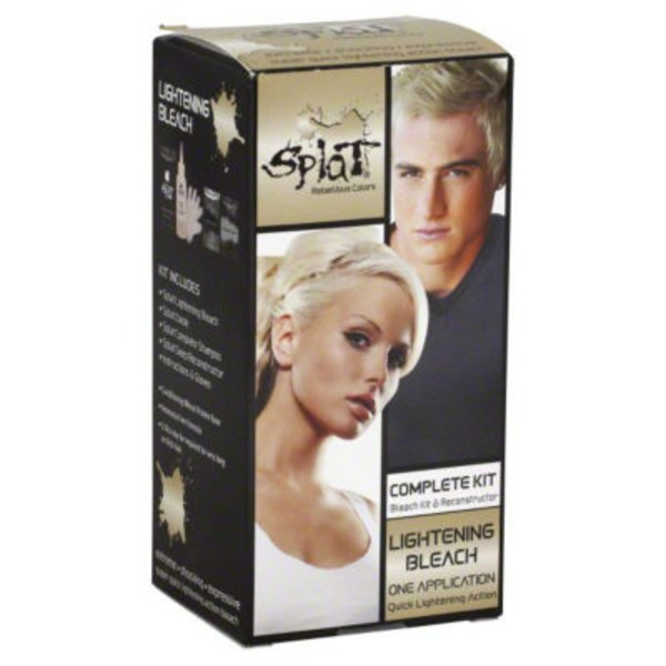 Splat Hair Bleach and Color Kit - Lightening Bleach