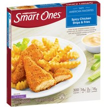 Weight Watchers Smart Ones Smart Creations Spicy Chicken Strips & Fries