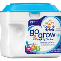 Similac Go & Grow Milk-Based Powder Infant Formula 1.37 lbs Tub