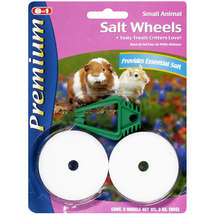 Premium For Small Animals Salt Wheels