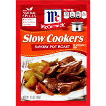 McCormick Slow Cookers Savory Pot Roast Seasoning