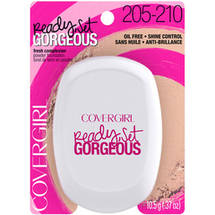 CoverGirl Ready Set Gorgeous Compact Powder Foundation Light/Medium 205/210