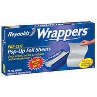 Reynolds Wrappers Pop Up Foil Sheets Pop-Up Pre-Cut Wrappers Foil Sheets