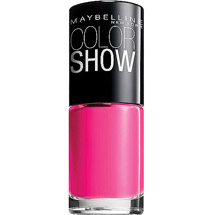Maybelline Color Show Nail Polish Pink Shock