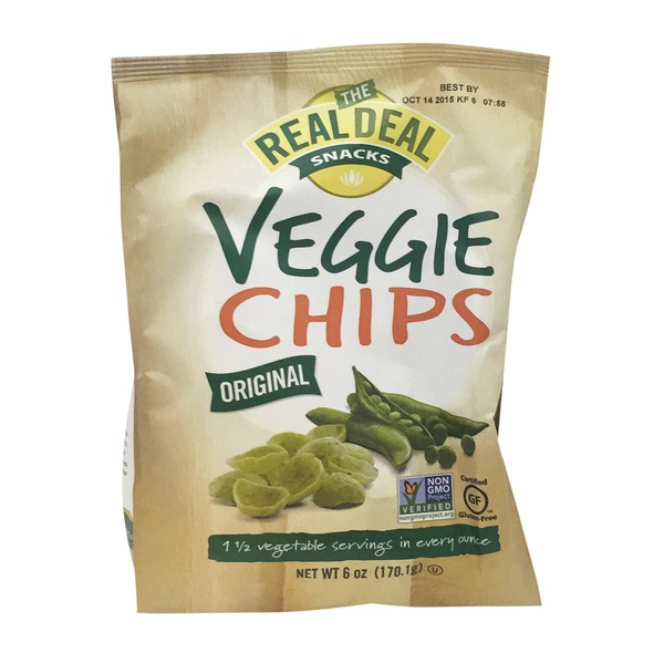The Real Dill Snacks Veggie Chips Original