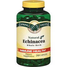 Spring Valley Echinacea Immune Health Supplement