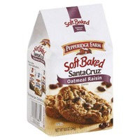 Pepperidge Farm Cookies Soft Baked Santa Cruz Oatmeal Raisin Cookies