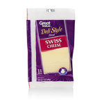 Great Value Sliced Swiss Cheese