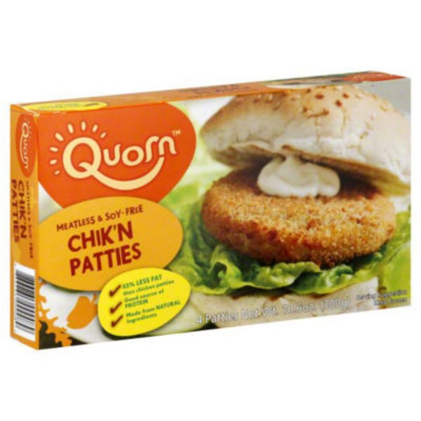 Quorn Chik 'n Patties Meatless & Soy-Free