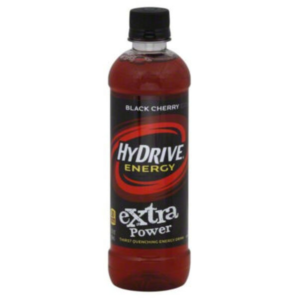 Hydrive Energy Water, Black Cherry, Bottle