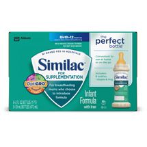 Similac For Supplementation Infant Formula with Iron Ready-to-Feed