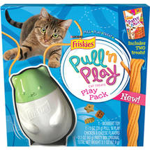 Purina Friskies Pull 'n Play Play Pack Cat Treats