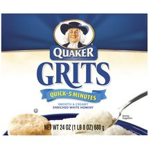 Quaker Quick Enriched White Hominy Grits