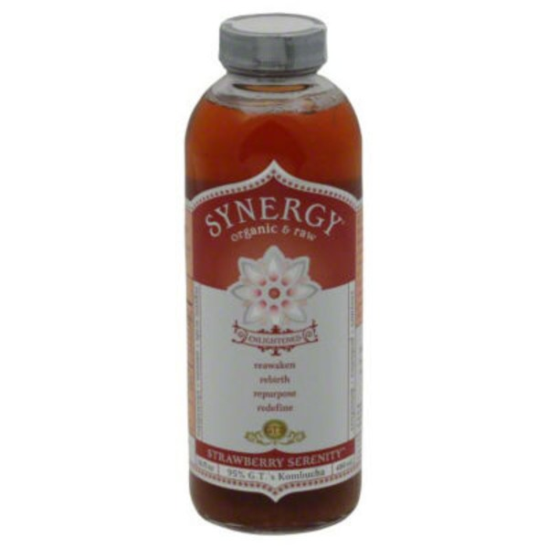GTs Organic & Raw Strawberry Serenity Kombucha