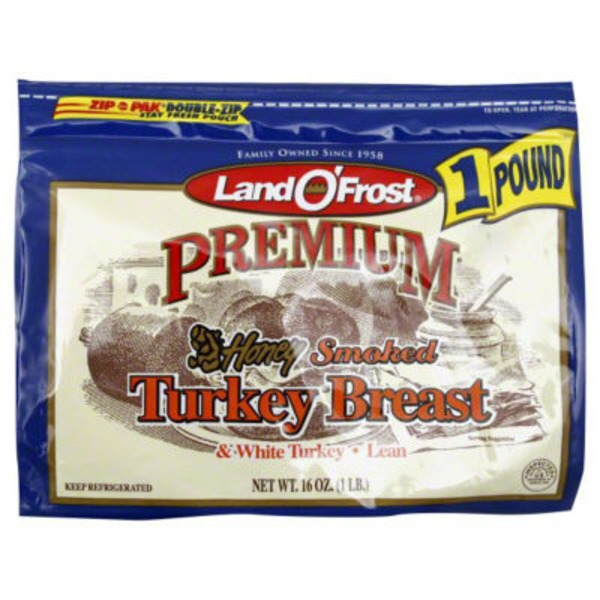 Land O' Frost Premium Honey Smoked Turkey Breast