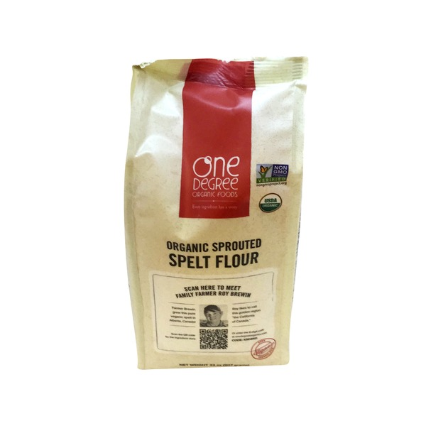 One Degree Organics Organic Sprouted Spelt Flour
