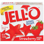 Jell-O Strawberry Gelatin Dessert