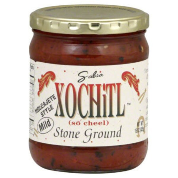 Xochitl Mild Stone Ground Salsa