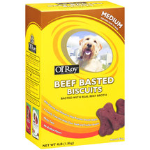 Ol' Roy Beef Basted Biscuits Dog Treats