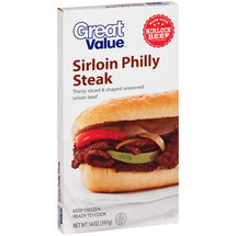Great Value Sirloin Philly Steak