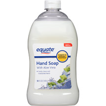 Equate Liquid Hand Soap with Aloe Vera Refill