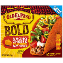 Old El Paso Stand 'n Stuff Nacho Cheese Flavored Taco Shells