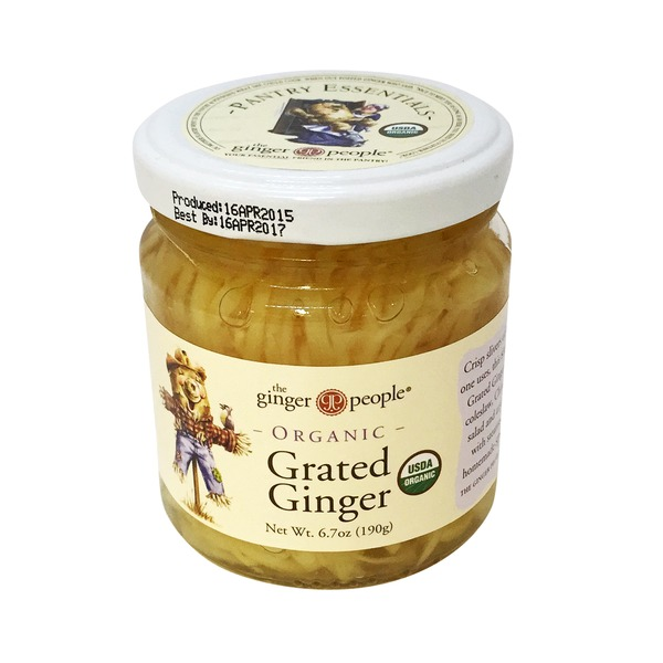 The Ginger People Organic Grated Ginger