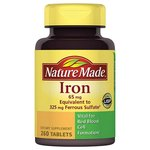 Nature Made Iron Dietary Supplement Tablets