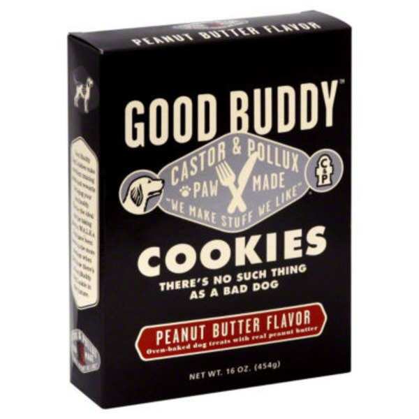 Castor & Pollux Good Buddy Peanut Butter Flavor Dog Cookies