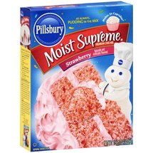 Pillsbury Moist Supreme Premium Strawberry Cake Mix
