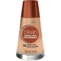 CoverGirl Clean Liquid Make Up Foundation CLASSIC IVORY 110