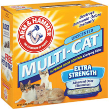 Arm & Hammer Multi-Cat Extra Strength Unscented Cat Litter