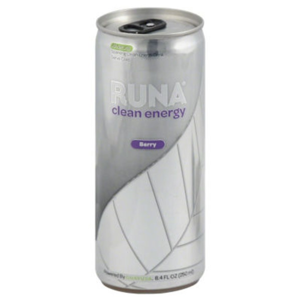 Runa Berry Clean Energy Drink