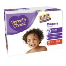 Parent's Choice Super Value Box Diapers Size 5