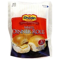 Rhodes White Dinner  Frozen Rolls Dough