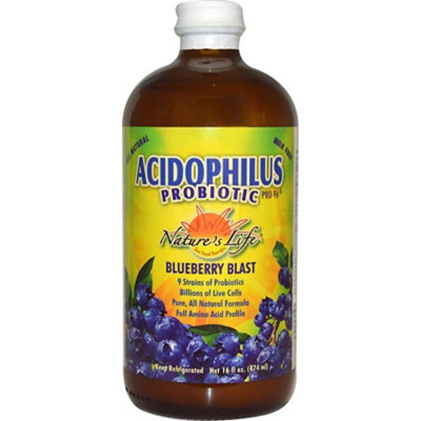 Nature's Life Blueberry Acidophilus