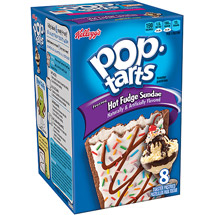 Kellogg's Pop-Tarts Ice Cream Shoppe Frosted Hot Fudge Sundae Toaster Pastries