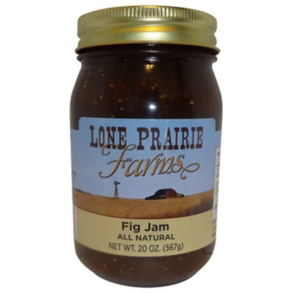 Lone Prairie Farms Fig Jam